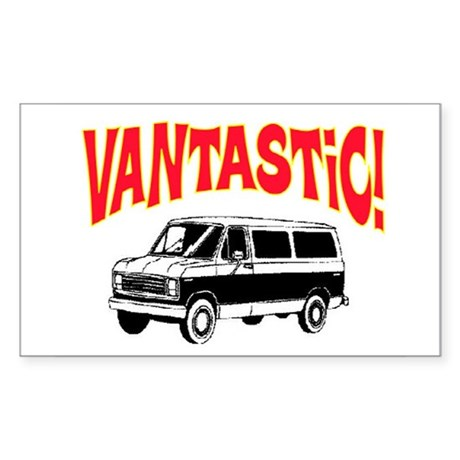 VANTASTIC Sticker (Rectangle)