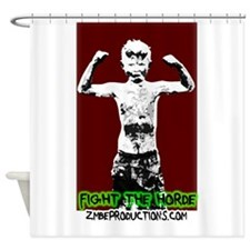 hoardlogo copy.png Shower Curtain