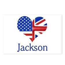 Jackson Postcards (Package of 8)