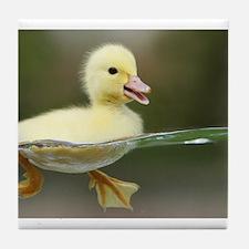 Duckling Tile Coaster