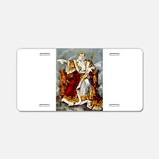 Napoleon Emperor of France - 1847 Aluminum License