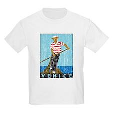 Venice Boatman Kids T-Shirt