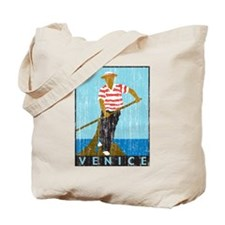 Venice Boatman Tote Bag