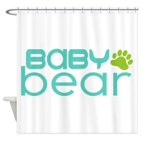 Baby Bear - Family Matching Shower Curtain