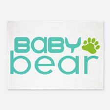 Baby Bear - Family Matching 5'x7'Area Rug