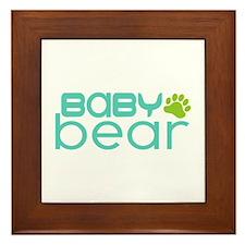 Baby Bear - Family Matching Framed Tile