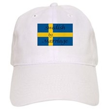 Swedish by Marriage Baseball Cap