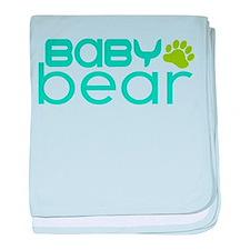 Baby Bear - family Matching baby blanket