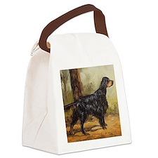 Gordon Setter Canvas Lunch Bag