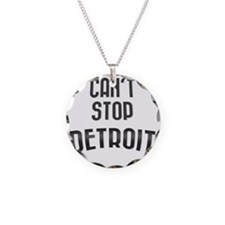 Can't Stop Detroit Necklace