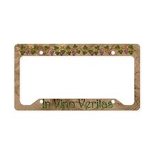 Harvest Moons In Vino Veritas License Plate Holder