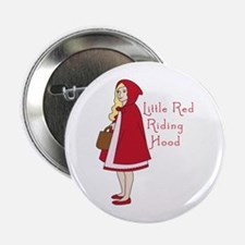 """Red Riding Hood 2.25"""" Button"""