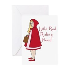 Red Riding Hood Greeting Card