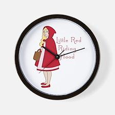 Red Riding Hood Wall Clock