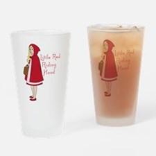 Red Riding Hood Drinking Glass