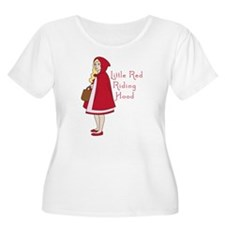 Red Riding Hood Plus Size T-Shirt
