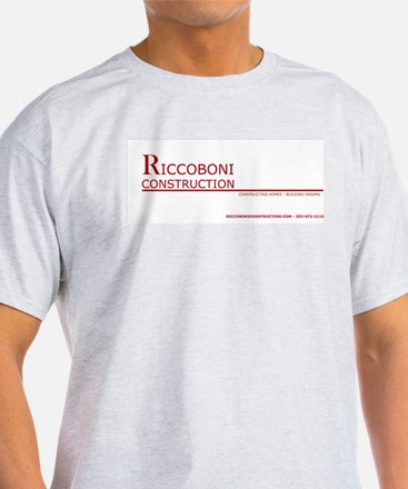 Riccoboni Construction Ash Grey T-Shirt