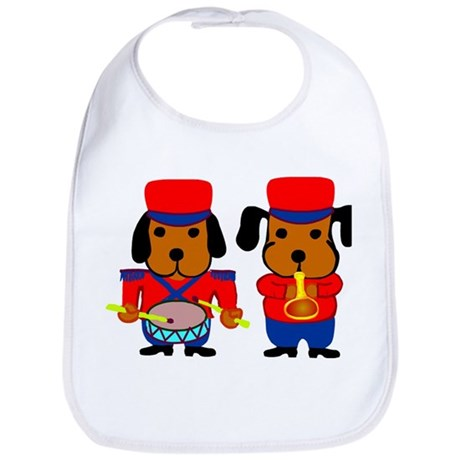 Beagle Musicians Bib
