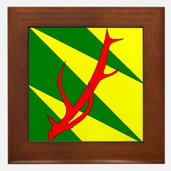 Outlands War Ensign Framed Tile