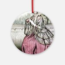 Caroline - 1848 Round Ornament