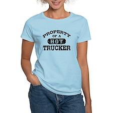Property of a Hot Trucker T-Shirt