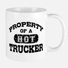 Property of a Hot Trucker Mug