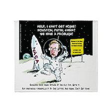 Edward Snowden, Astronaut Throw Blanket