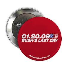 Bush's Last Day Button