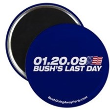 Bush's Last Day Magnet