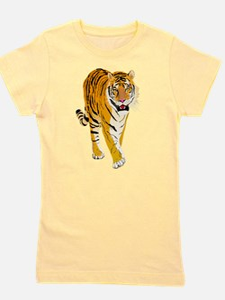 Tiger Girl's Tee