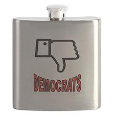 ANTI-DEMOCRATS Flask