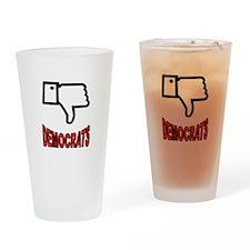 ANTI-DEMOCRATS Drinking Glass