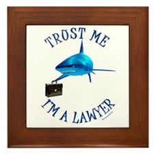 I'm a Lawyer (2) Framed Tile