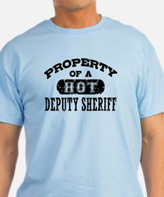 Property of a Hot Deputy Sheriff T-Shirt