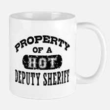 Property of a Hot Deputy Sheriff Mug