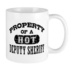 Property of a Hot Deputy Sheriff Mug