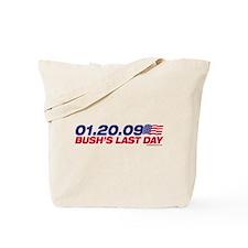 01.20.09 - Bush's Last Day Tote Bag