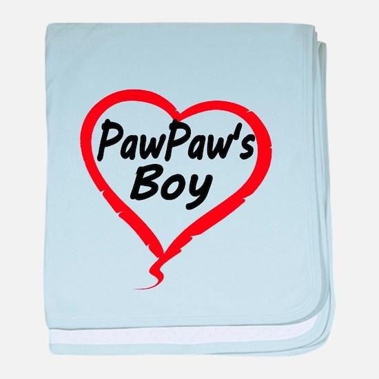 PAWPAWS BOY baby blanket