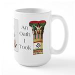 The Masonic Oath Large Mug