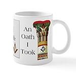 The Masonic Oath Mug