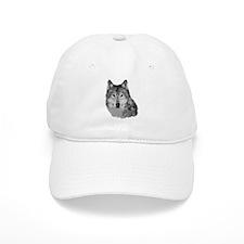 Gray Wolf Baseball Cap