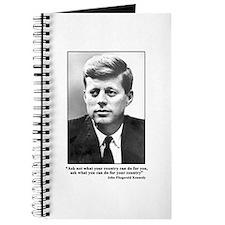 JFK Inaugural Quote Journal