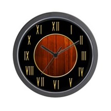 Elegant Tromp L'Oeil Wall Clock