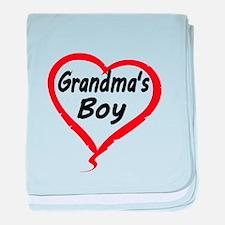 GRANDMAS BOY baby blanket