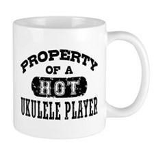 Property of a Hot Ukulele Player Mug