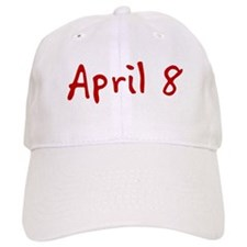 April 8 Baseball Cap