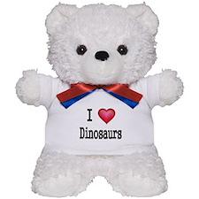 I LOVE Dinosaurs 2 Teddy Bear