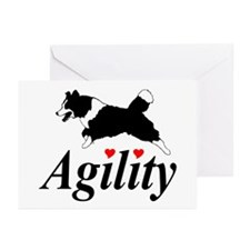 Border Collie Agility Greeting Cards (Pk of 10