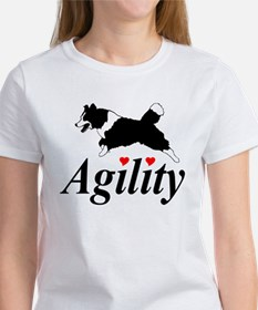 Border Collie Agility Tee