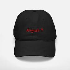 August 9 Baseball Hat